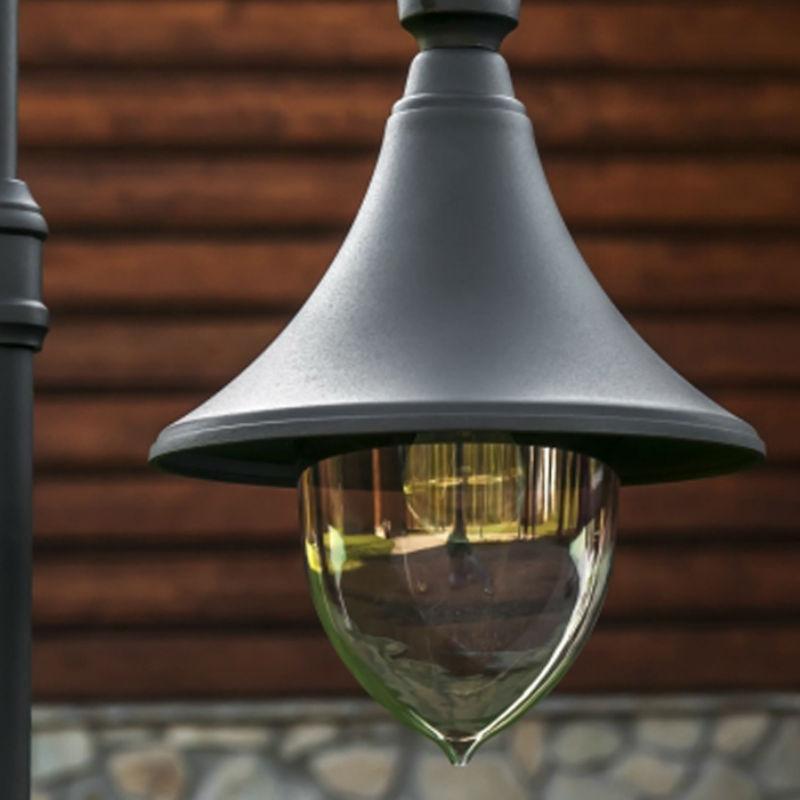 Belysningsstolpar | Belysningsstolpe Firenze, inkl 2 armaturer - 2,56-1,93 m