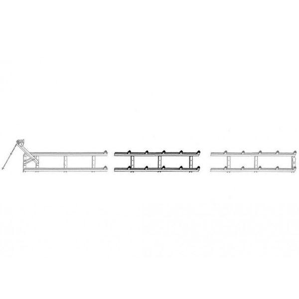 Båtramper & vattenskoterramper  | Förlängning till 350 kg Strandramp 275 cm