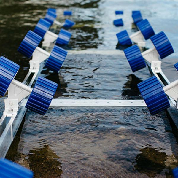 Båtramper & vattenskoterramper  | Förlängning till 910 kg Strandramp 275 cm