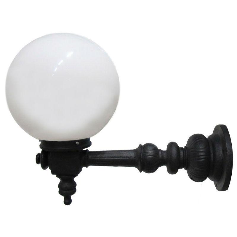 Väggbelysning | Rådhuslampa Lysvik, med Glob