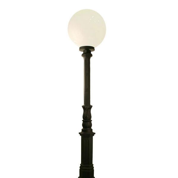 Belysningsstolpar | Lyktstolpe Ljuså Glob 400