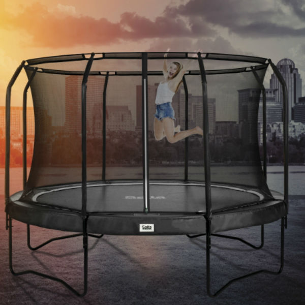 Studsmattor | SALTA Studsmatta Premium, Svart 244 cm