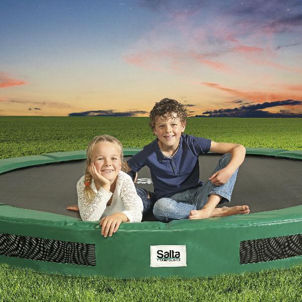 Studsmattor | SALTA Studsmatta Excellent ground exkl. nät 366cm
