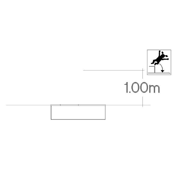 Studsmattor | Trampolin 1x1m