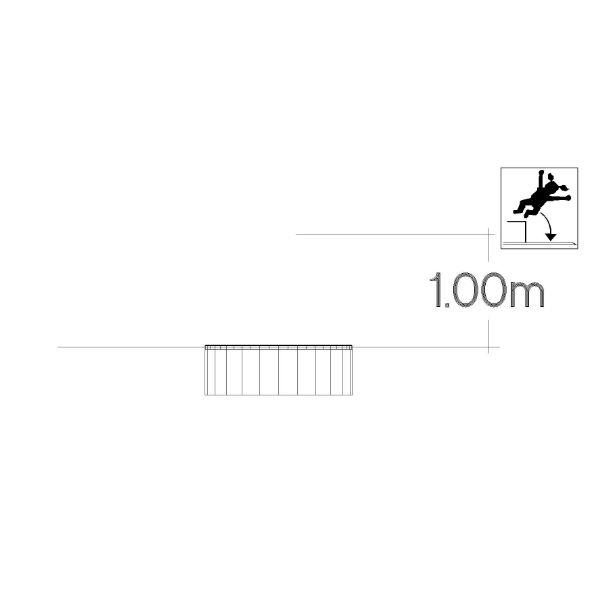 Studsmattor | Rund Trampolin 0,8m