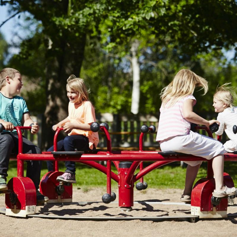 Karuseller | Cykelkarusell Pedal