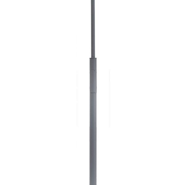 Belysningsstolpar | Stålstolpe Alugrå 3-4,5M