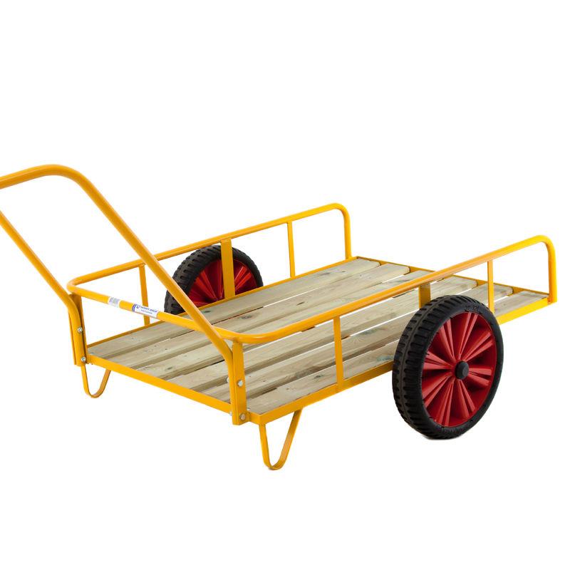 Vagnar & Kärror | Paketkärra med punkteringsfria hjul