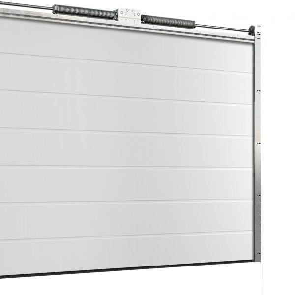 Garageportar | Motordriven garageport 4500 x 2100mm Ribbad