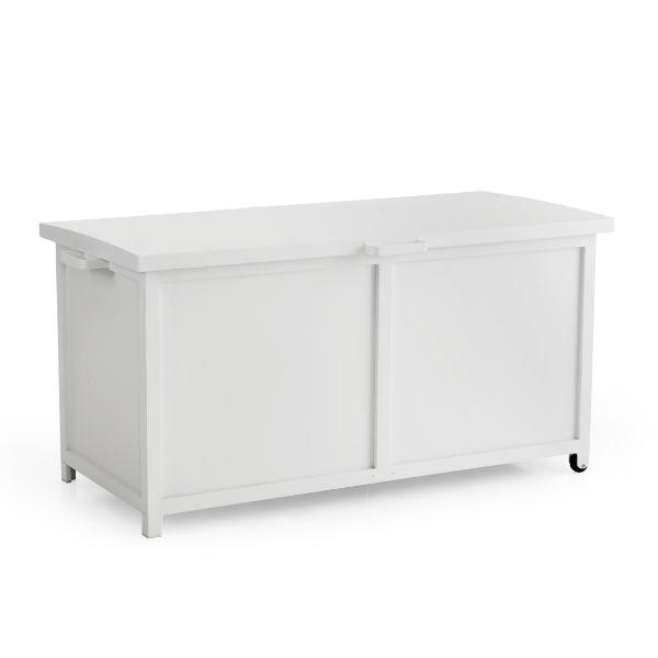 Förvaringslådor   Grasse förvaringslåda vit 177x85x99