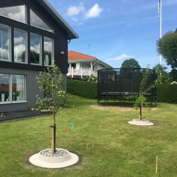 Rabattkanter & Trädringar | Planteringsring Offentlig miljö Betong