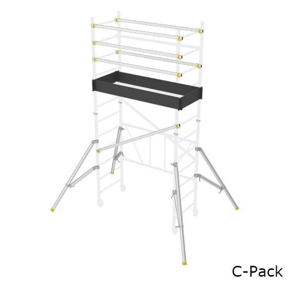Stegar & Ställningar | Wibe Vikbar ställning WHS 400