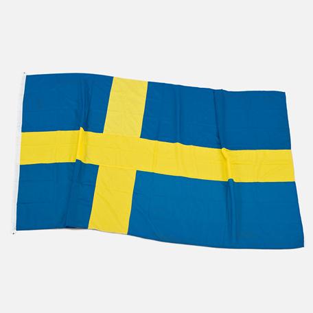 Flaggor & Vimplar   Båtflagga Sverige